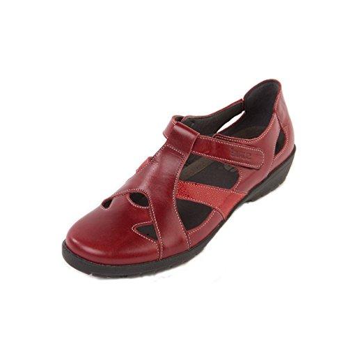 para Cherry cordones mujer Reptile de Zapatos de Otra Piel Suave q84YEwq