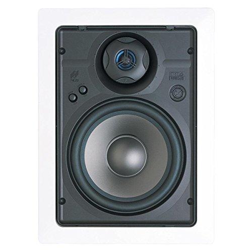 "Niles PR6R 6-1/2"" 2-Way Performance In-Wall Loudspeaker with Bracket Kit - Pair (White)"