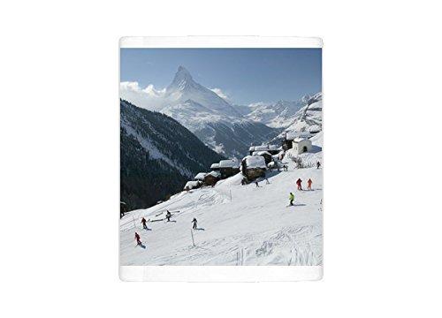 Mug of SWITZERLAND-Wallis/Valais-ZERMATT Findeln/Winter Mountain Ski Village a (11133058)