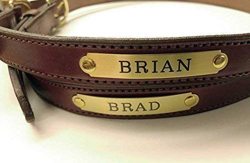 Buy custom leather belts with name