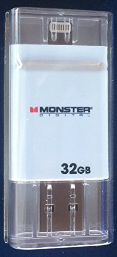 Monster iX32 USB Drive - 32GB of Extra - Monster Usb Flash Drive