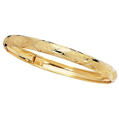 gold dp yellow solid adjustable torque bracelet bangles plated bystar scorpios smooth bangle