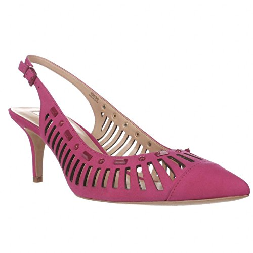 Inc Internationale Concepten I35 Dehany Kitten Hakken Pumps - Deep Fuchsia