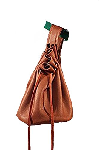 CL BATTLESUPPLIES Medieval-LARP-Pagan-Reenactment-Archer-Beautiful Leather Medieval Pilgrim Or Nobleman Bag Light Brown
