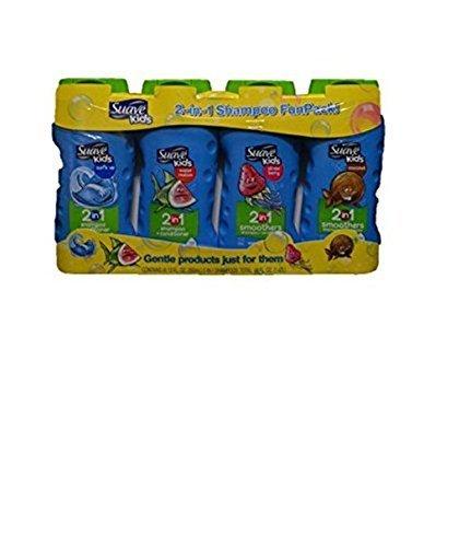 Suave Kids 2-in-1 Shampoo Funpack 4 12oz Bottles