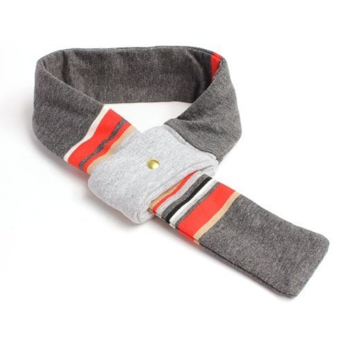 High-Fashion THE HARVARD Doggy Scarf (LARGE) Handcrafted in Los Angeles