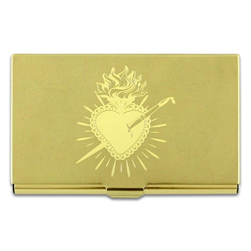 ACME Studios Heart Etched Card Case by Frida Kahlo (C2FK05BC) ()