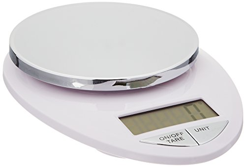 Eatsmart precision pro digital kitchen scale white chrome for Kitchen pro smart scale