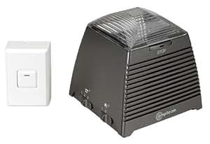 Amplicom Ringflash 200 - Amplificador de sonido de teléfono y timbre (importado)