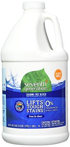 Seventh Generation Chlorine-Free Bleach - Free & Clear - 64 oz - 2 pk