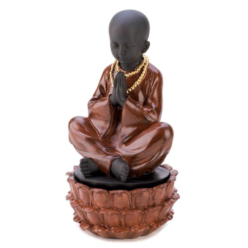 Gifts & Decor Sitting Monk Decorative Jewelry Hidden Treasure Box Hidden Treasures Box