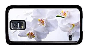 Hipster Samsung Galaxy S5 Cases carry phalaenopsis orchids PC Black for Samsung S5