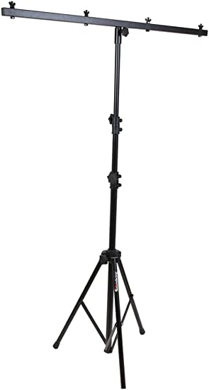 Light Stand 50 lb Capacity Up to Four Lamps Adjustable Portable