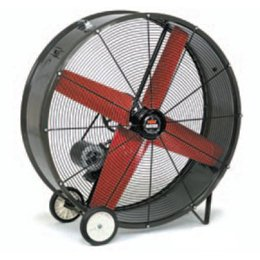 (Triangle | SPL 4223 42 Inch Belt Drive Portable Blower Fan | Heat Buster Slim Design 2-Speed | 14,445/9,550 CFM | 115 Volts 1 Phase 7.3 Amps)