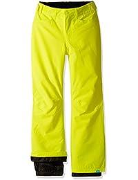 Roxy Big Backyard Girls Snow Pant, Lemon Tonic, 14/XL