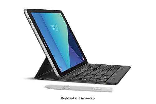 Samsung Galaxy Tab S3 LTE model SM-T825C 32GB - Factory Unlocked International Model, No Warranty in the US - GSM ONLY, NO CDMA (Silver)