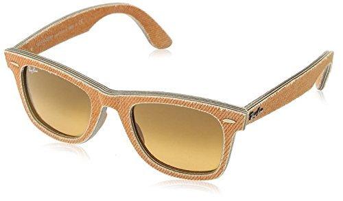 Ray-Ban RB2140 Wayfarer Sunglasses Orange Jeans w/Orange Gradient (1165/3C) RB 2140 11653C 50mm
