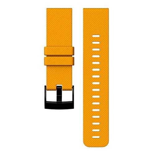 Suunto Traverse Amber Silicone Strap AW16
