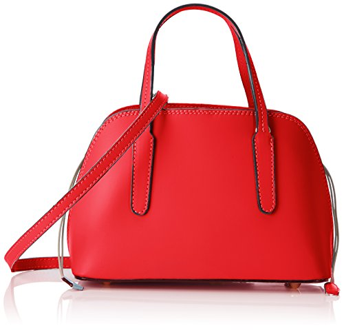 Borse red Chicca Red Mano 8672 Mujer Rojo Bolso De RWcSOcgBq