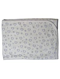 Kissy Kissy Baby-Girls Infant Fleur De L'Amour Print Receiving Blanket