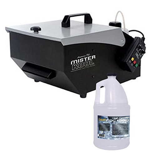 NEW American DJ MISTER KOOL Low Lying Dry Ice Effect Fog Machine w/HDF Fog Fluid