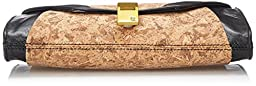 Elliott Lucca Cordoba Clutch, Black Cork, One Size
