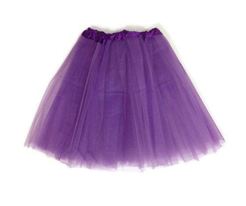 [Rush Dance Women's EXTRA PLUS SIZE XXL Costume Ballet Warrior Dash Run Tutu (Extra Plus, Purple)] (Plus Size Ballerina Costumes)