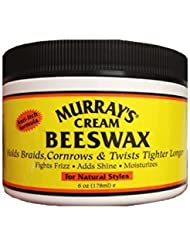 Murray's Cream Beeswax - 6oz
