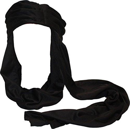 Alexanders Costumes Men's Arabian Knight Turban, Black, One Size -