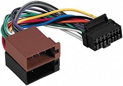 Sound-way ISO Adapterkabel Autoradio kompatibel mit Aiwa16 pin