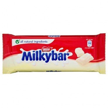 Milky Bar Kid (Nestle Milky Bar Block 100g)