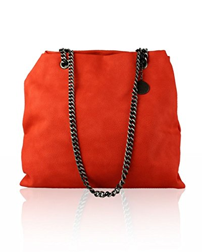 LeahWard Shoulder Chain 3295 Womens' Red Womens' Bag LeahWard Strap fq41Wwd