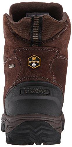 Khombu Mens Riley2-K Cold-Weather Boot Brown/Olive kRdxsh2I