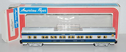 American Flyer 6-48915 Missouri Pacific Eagle View Vista Dome passenger car S ()