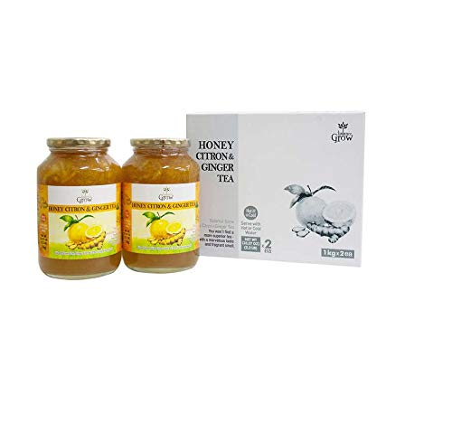 BALANCE GROW HONEY CITRON & GINGER TEA 2.2 LB (PK OF 2)
