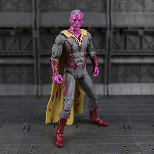 Man Winter Soldier Ant-Man Falcon Scarlet Witch Vision Action Figure Model Toys N033 -Multicolor Complete Series Merchandise