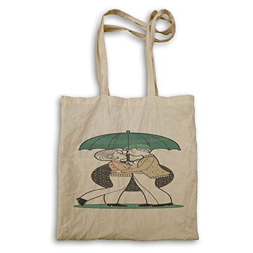 Paar Liebe Regenschirm Tragetasche p298r