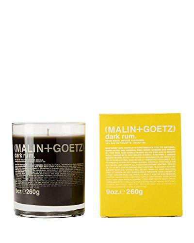 Dark Rum Candle - (1) MALIN and GOETZ Dark Rum Candle 9oz