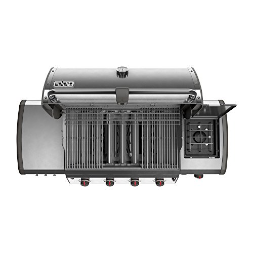 weber 67004001 genesis ii lx s 440 natural gas grill stainless steel gas grill features. Black Bedroom Furniture Sets. Home Design Ideas