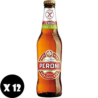 PERONI CERVEZA SIN GLUTEN 33 CL 12PZ: Amazon.es ...