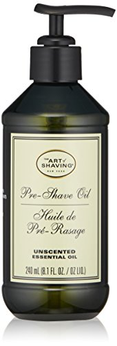 The Art Of Shaving Pre Shave Oil, Unscented, 8 Ounce (Art Of Shaving Sandalwood Pre Shave Oil)