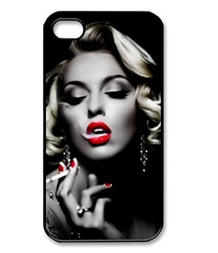 Season.C Cool Marilyn Monroe Smoking Protective Hard Back Case Cover for iPhone 5C
