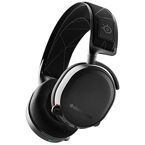 chollos oferta descuentos barato SteelSeries Arctis 7 Auriculares De Juego Inalámbricos Sin Pérdidas Dts Headphone X V2 0 Surround Para PC Playstation 5 y PlayStation 4 Negro