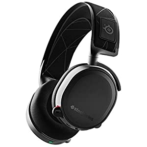 SteelSeries Arctis 7 – Casque de Jeu sans Fil et sans Perte – Son Surround DTS Headphone:X v2.0 pour PC, PlayStation 5…
