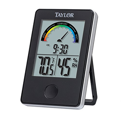 Taylor Precision Products 1732 Taylor Digital Indoor Comfort Level Thermometer and Hygrometer, ()