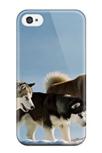 First-class Case Cover For Iphone 4/4s Dual Protection Cover Dog