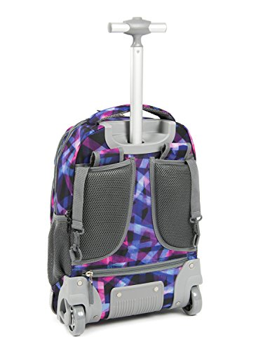 89676a09413d Tilami New Antifouling Design 18 inch Oversized Load Multi-Compartment Wheeled  Rolling Backpack Luggage for