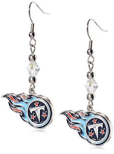 Siskiyou NFL Tennessee Titans Crystal Dangle -