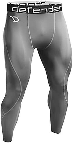 Defender Men's Thermal Wintergear Compression Baselayer Pants Leggings Tights