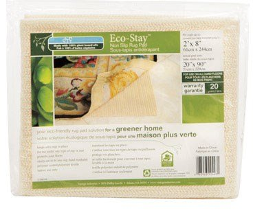 Con-Tact Rug Pad 2x8, Non-Slip Area Rug Pad, Eco-Stay for Hard Floors by Con-Tact